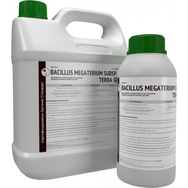 Биомасса Bacillus megaterium
